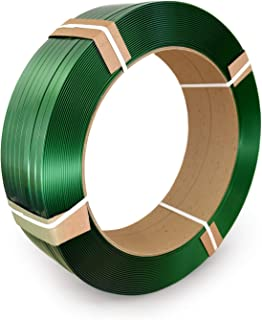 IDL Packaging 1/2 x 0.025 Polyester (PET) Strapping, 5800' Length, 760 lbs. Break Strength, 16 x 6 Core