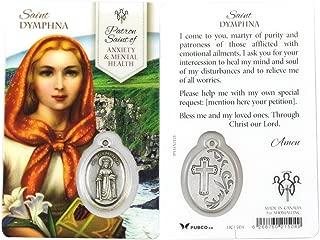 Healing Saint Dymphna Prayer Card