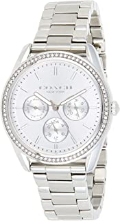 Coach Women's Silver Dial Stainless Steel Watch - 14503265