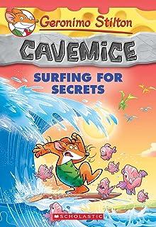Surfing for Secrets (Geronimo Stilton Cavemice #8), Volume 8