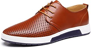 Men's British Style Breathable Flat Dress Shoes Fashion Sneakers