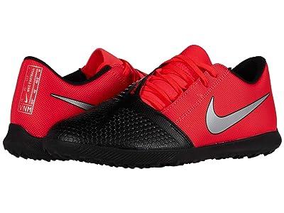 Nike Phantom Venom Club TF (Laser Crimson/Metallic Silver/Black) Shoes