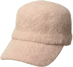 CTH8114 Faux Angora Knit Ball Cap