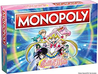 Monopoly Sailor Moon Board Game | Based on The Popular Anime TV Show | Collectible Monopoly Featuring Custom Sailor Moon Tokens, Money and Game Board | Officially Licensed Sailor Moon Merchandise