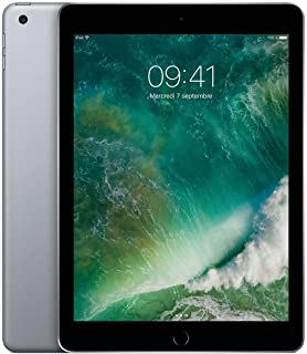 Apple iPad con WiFi, 128 GB, color Gris Espacial (nuevo iPad que reemplaza el modelo iPad AIR 2) (Reacondicionado)