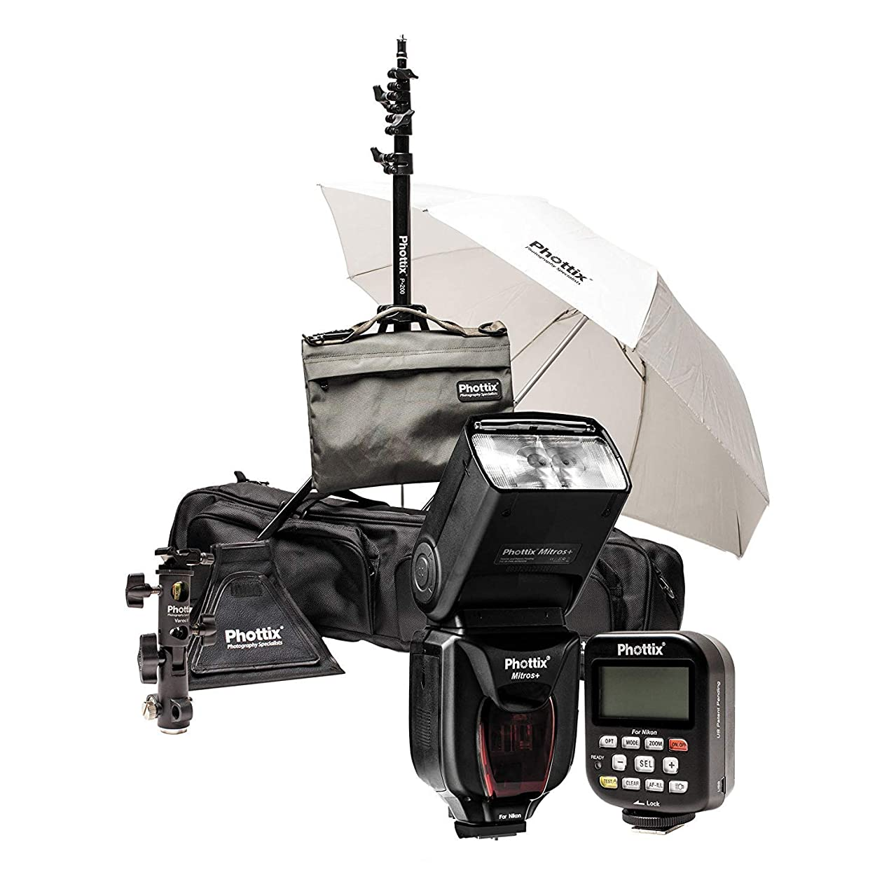 Phottix PH80378 Mitros+ & Odin Scott Kelby Kit for Nikon (Black)