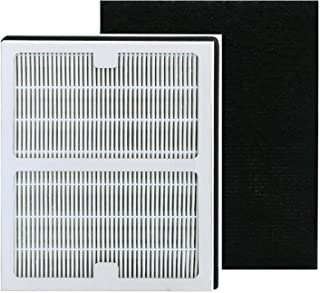 Replacement Idylis A Hepa Filters, Compatible with Idylis AC-2119, IAPC-10-140, IAP-10-100, IAP-10-150 Model # IAF-H-100A, Includes 1 HEPA & 1 Carbon Filters