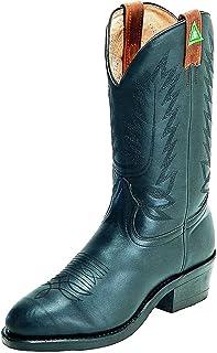 American Boots - Work Boots BO-8120-78-EEE (Strong Foot) - Men - Black