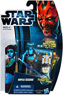 Star Wars Clone Wars Animated 2012 Figure Aayla Secura #14