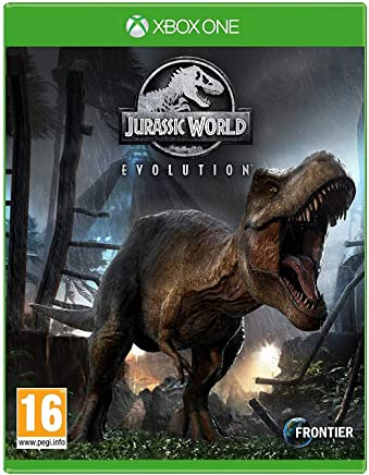 Jurassic Work Evolution Video Game for Xbox One by Frontier Rated 16