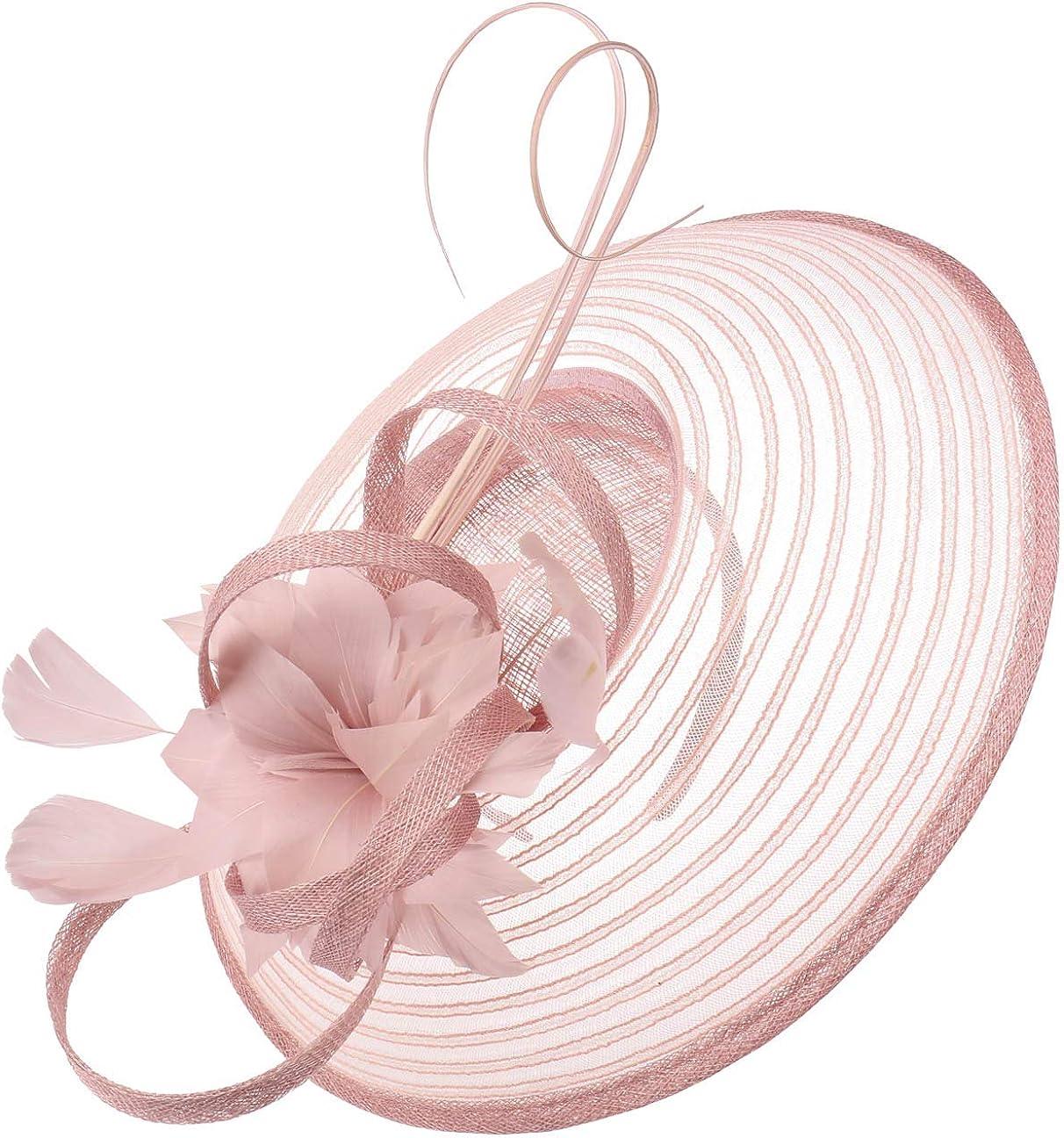 Women/´s hat Wedding Summer-Winter McBurn Sinamay Flower Fascinator Women