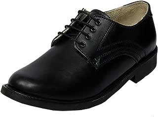 XY HUGO Leather Formal & School Shoe for Boys 2506 Black
