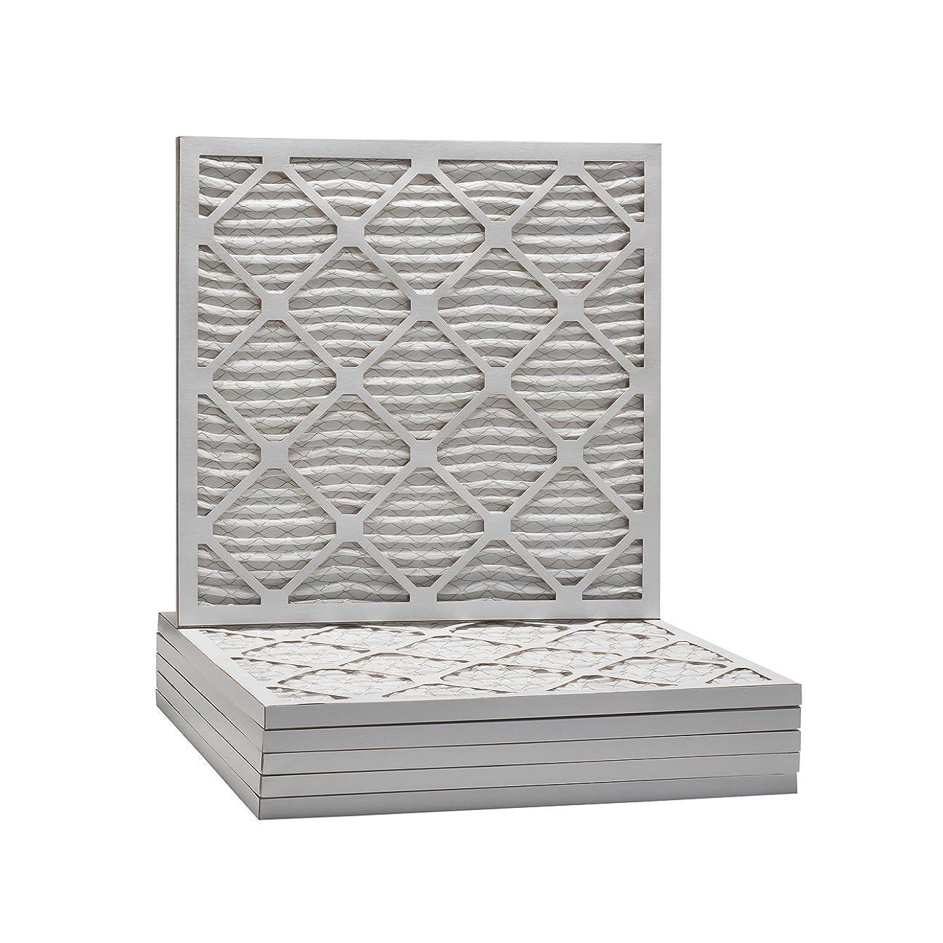 Tier1 12x12x1 Merv 8 Pleated Dust & Pollen AC Furnace Air Filter 6 Pack