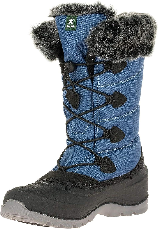 Kamik Women's Snow Shoe, Blue, 9