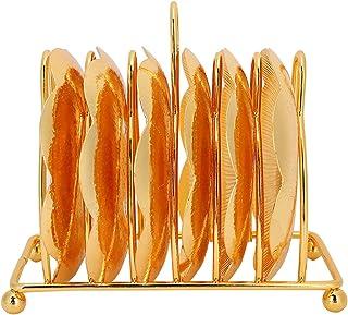 Germerse Longue durée de Vie, Solide et Durable de Style européen MetalCoaster, RetroCoaster, Tables de Salle à Manger réu...