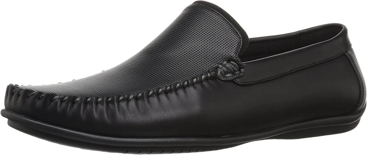 Nunn Bush Men's 84755-001 Driving Style Loafer, Black, Medium
