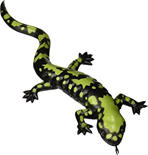 Wild Republic Rubber Green Spotted Salamander Toy, Amphibian, 10