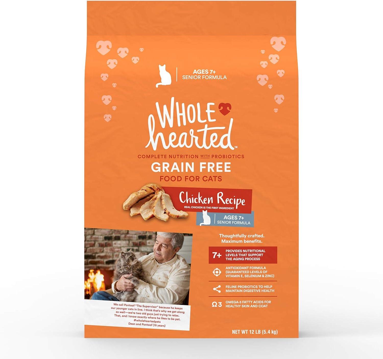 Petco Brand - WholeHearted Grain Recipe Free Manufacturer direct delivery Dry Senior Chicken Louisville-Jefferson County Mall