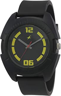 Fastrack Casual Analog Black Dial Men's Watch -NK3116PP03