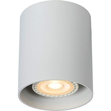 Lucide BODI - Spot Plafond - Ø 8 cm - GU10 - Blanc
