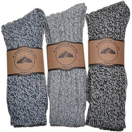 WB Socks Men's Thick & Warm socks 3 pairs per pack
