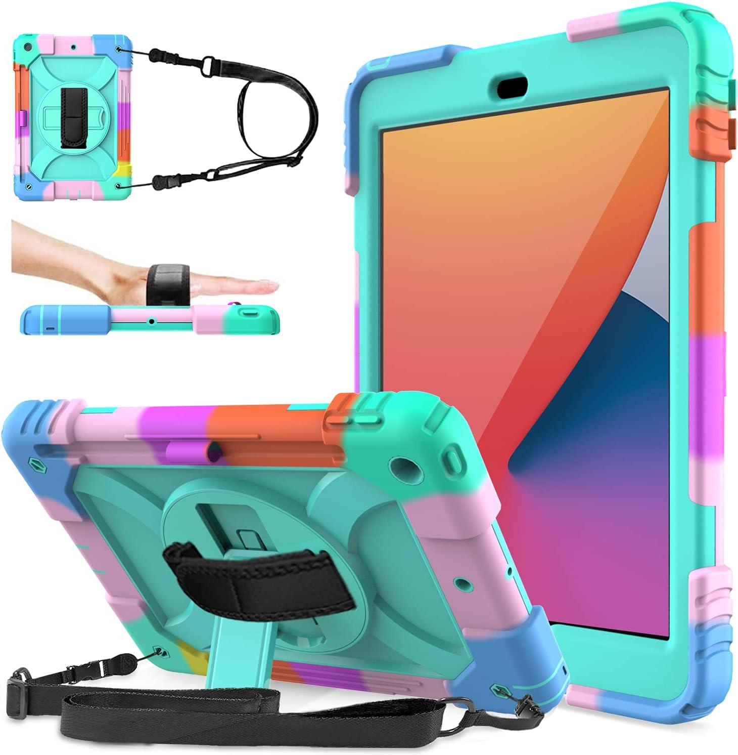 LEDNICEKER iPad Minneapolis Mall 9th 8th 7th 10.2 Thr 2021 model Generation case