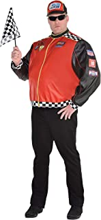 Fast Lane Driver Halloween Costume for Men, Plus Size, with Accessories