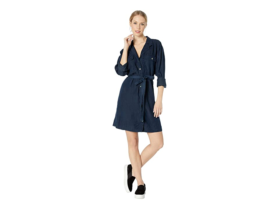 Image of Sanctuary Stephie Army Shirtdress (New Port Wash) Women's Dress