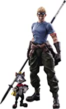 Square Enix Final Fantasy VII Advent Children: CID Highwind & Cait Sith Play Arts Kai Action Figure 2 Pack