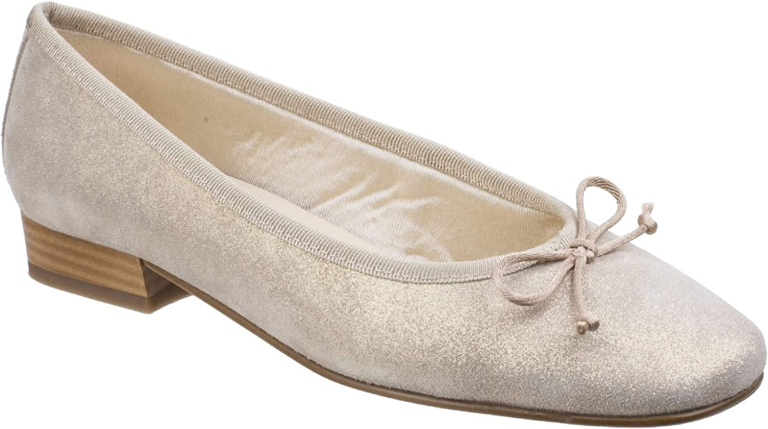 Riva Womens Ledro Suede Ballerina Court shoes