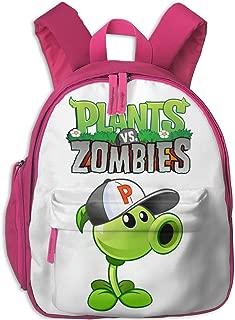 Zhenzhan Girl Toddler Bags Peashooter Costume Print Kids Backpacks For Camp