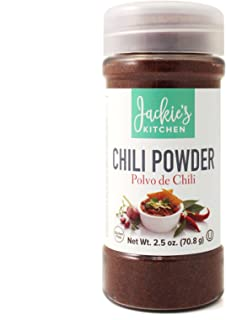 Jackie's Kitchen Chili Powder, 2.5 Ounce (Pack of 12)