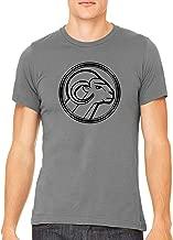 Black Aries Star Sign Unisex Premium Crewneck Printed T-Shirt Tee