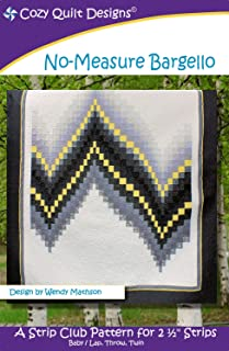 Cozy Quilt Designs 'Strip Club' Pattern - No-Measure Bargello (Includes Instructions for Three Project Sizes)