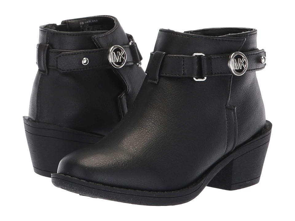 MICHAEL Michael Kors Kids Fia Harland (Little Kid/Big Kid) (Black) Girls Shoes