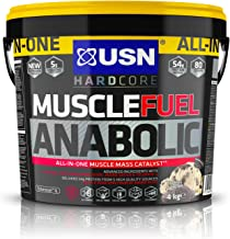 USN Fuel Anabolic Lean Muscle Gain Shake Powder Cookies and Cream 4 kg Estimated Price : £ 39,99