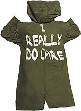 Womens Melania I Really Do Care Trump Mechanic Cargo Olive Jacket