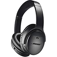 Bose QuietComfort 35 Series II Over-Ear Wireless Bluetooth Headphones with Microphone (Black / Silver)