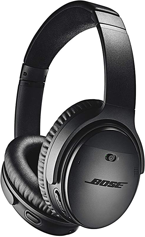 Bose QuietComfort 35 II Wireless Bluetooth Headphones Noise Cancelling With Alexa Voice Control Enabled With Bose AR Black