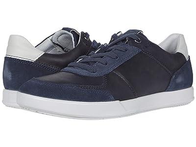 ECCO Collin 2.0 Dress Sneaker (Marine/Night Sky/Concrete) Men
