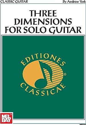 Three Dimensions for Solo Guitar