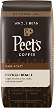 Peet's Coffee French Roast, Dark Roast Whole Bean Coffee, 20 Ounce Peetnik Pack,..
