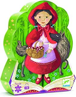 DJECO Silhouette Puzzle, Little Red Riding Hood