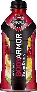 BodyArmor SuperDrink, Electrolyte Sport Drink, 28 oz, Pack of 12 (Fruit Punch)