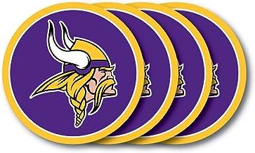 Duck House Minnesota Vikings Coaster Set - 4 Pack