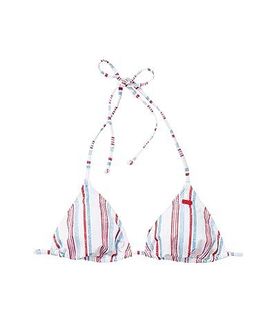 Roxy Lake Of Stars Tiki Tri Swim Top (Blue Heaven/Stars Stripes) Women