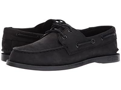 Sperry Kids Authentic Original (Toddler/Little Kid/Big Kid) (Black) Kids Shoes