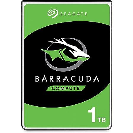 """Seagate BarraCuda, 1 TB, Disco duro interno, HDD, 2,5"""" SATA 6 GB/s, 5400 RPM, caché de 128 MB para ordenador portátil y PC (ST1000LM048)"""