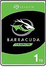 Seagate BarraCuda, 1 TB, Disco duro interno, HDD, 2,5 in, SATA 6 Gb/s, 5400 r.p.m., caché de 128 MB para ordenador portátil y PC (ST1000LM048)