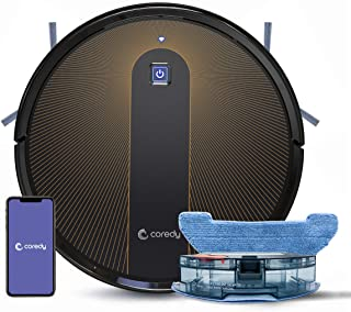 Sponsored Ad - Coredy R750 Robot Vacuum Cleaner, Compatible with Alexa, Mopping System, Boost Intellect, Virtual Boundary ...
